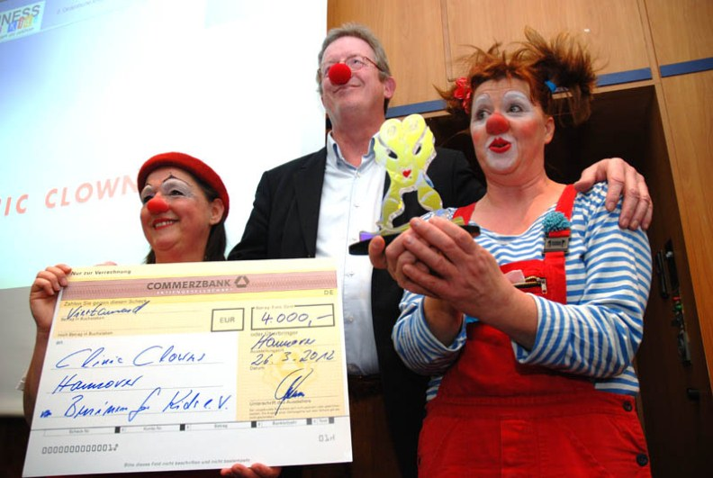Clinic Clowns Award 2012