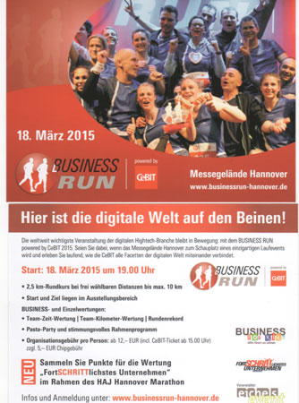 Eichel Events Business Run Cebit 2015