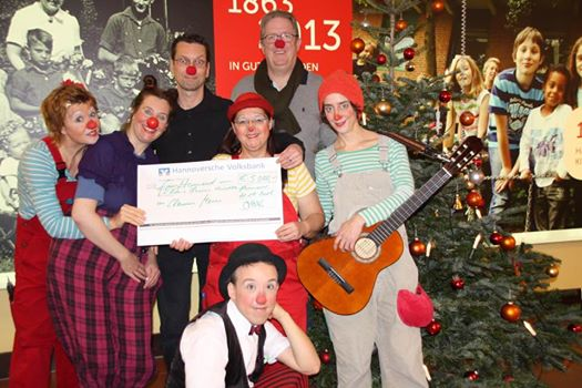 Clinic Clowns Kiderheilanstalt 2017 Business for Kids